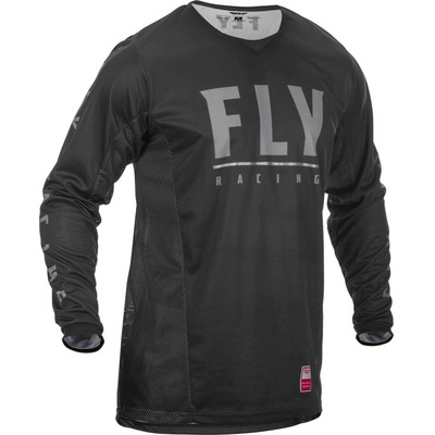 Maillot enduro Fly Racing Patrol noir/gris