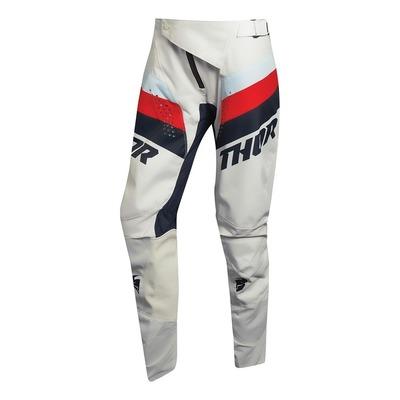 Pantalon cross femme Thor Pulse Racer vintage blanc/midnight