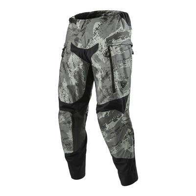 Pantalon enduro textile Rev'it Peninsula (court) camouflage gris