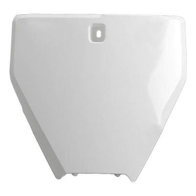 Plaque de numéro frontale UFO Husqvarna 250 FC 16-18 blanc