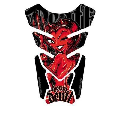 Protection de réservoir Motografix Street Style Horm Devil noir/rouge 4 pièces