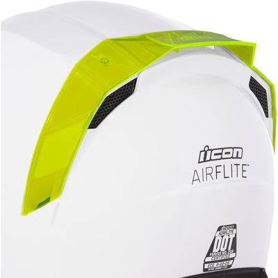 Spoiler arrière Icon pour casque Airflite dayglo vert