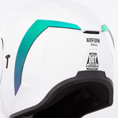 Spoiler arrière Icon pour casque Airform vert