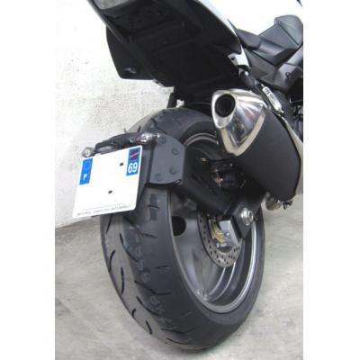 Support de plaque déporté Access Design pour Suzuki GSR 750 12-16