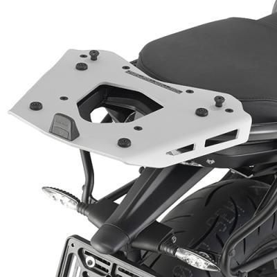 Support spécifique et platine en aluminium Kappa pour top case Monokey BMW R 1200R 15-18