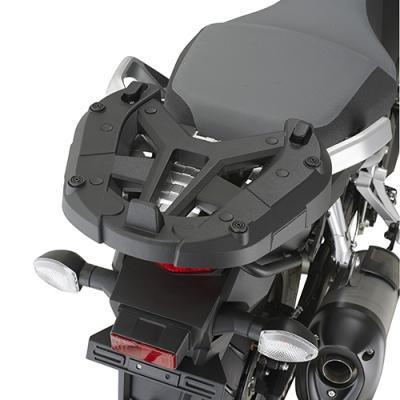 Support spécifique et platine Kappa pour top case Monokey Suzuki DL 1000 V-Strom 14-16