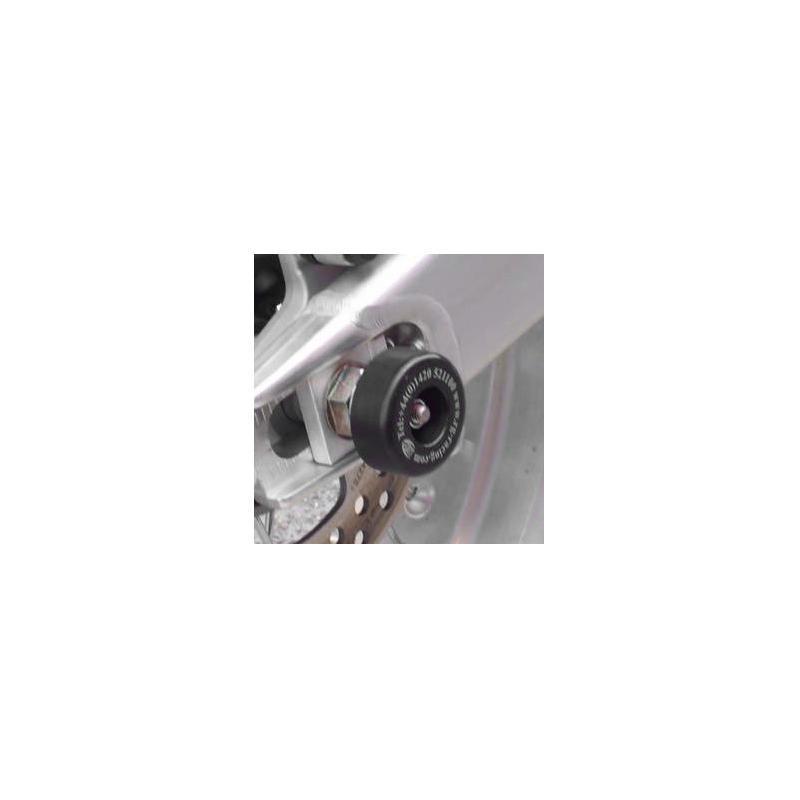 Tampons de bras oscillant R&G Racing noir Husqvarna SMR 450 06-10