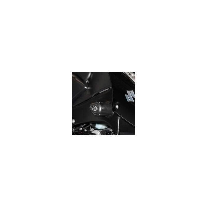 Tampons de protection R&G Racing Aero noir Suzuki B-King 1300 07-12