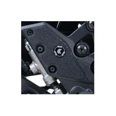 Adhésif anti-frottements R&G Racing noir cadre Kawasaki Versys 1000 15-18