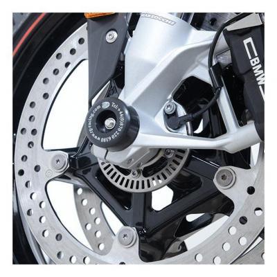 Tampons de protection de fourche R&G Racing noir BMW S 1000 RR 19-20