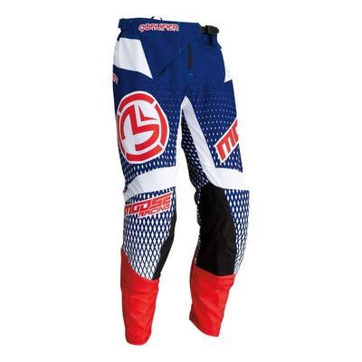 Pantalon cross Moose Racing Qualifier bleu/blanc/rouge
