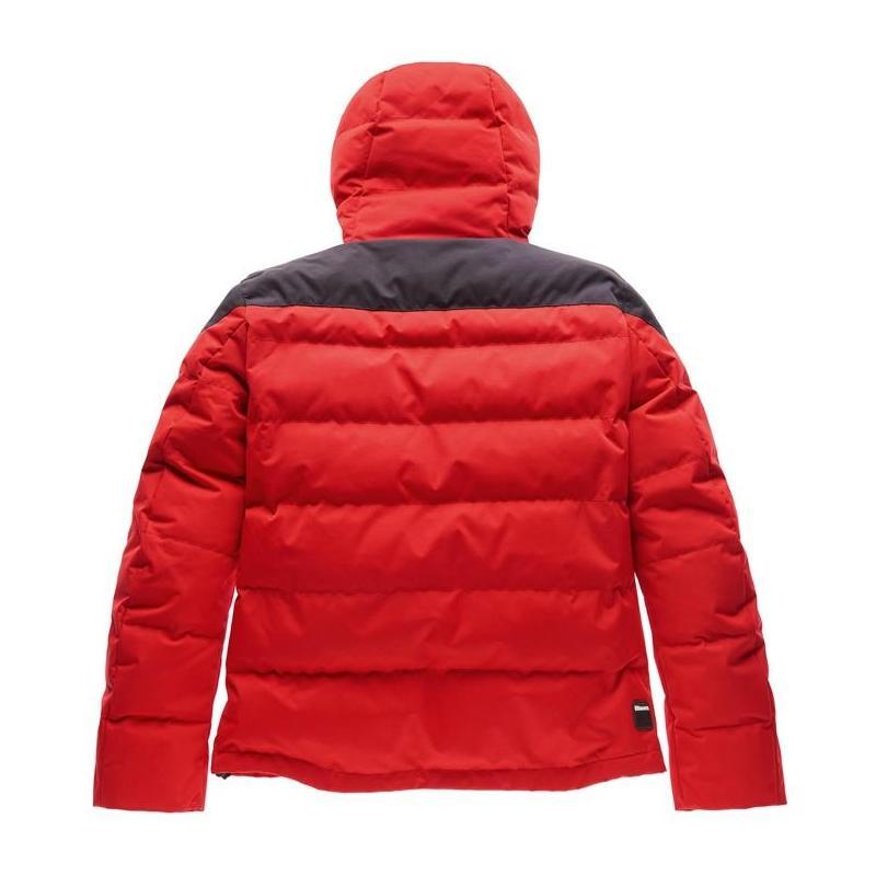 Blouson textile Blauer Easy Winter Man 2.0 rouge/bleu - 1