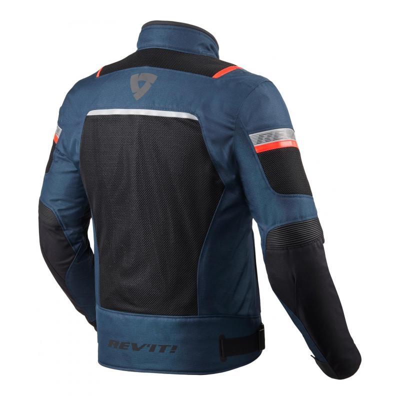 Blouson textile Rev'it Tornado 3 dark bleu/noir - 1