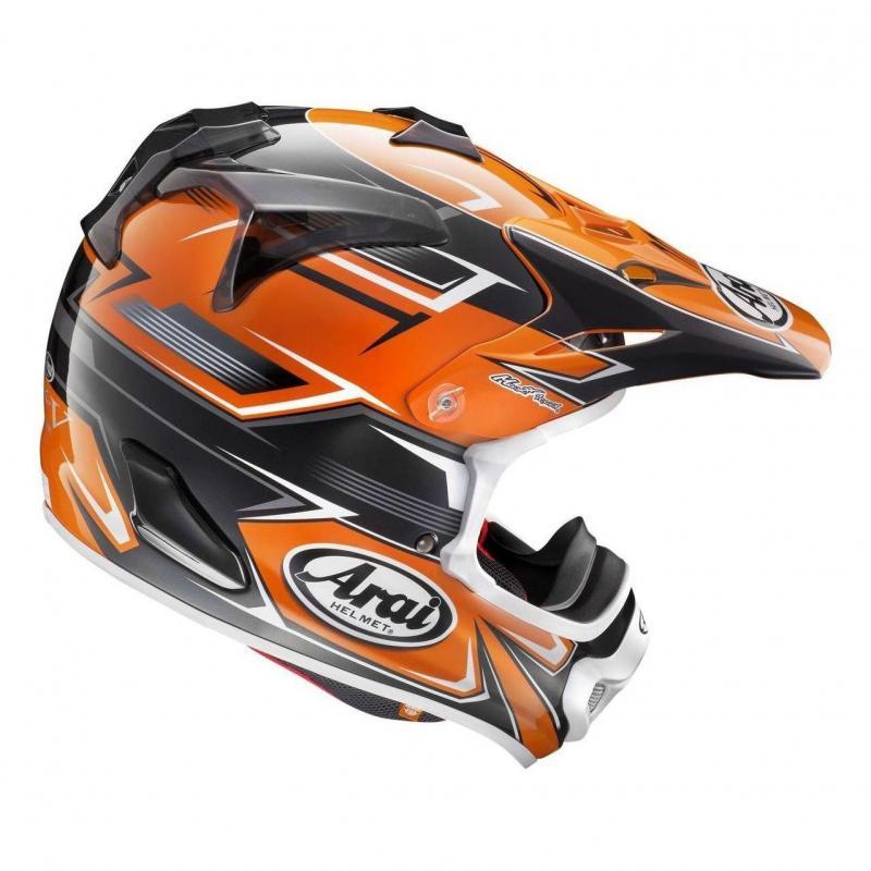 Casque cross Arai MX-V Sly Orange - 1