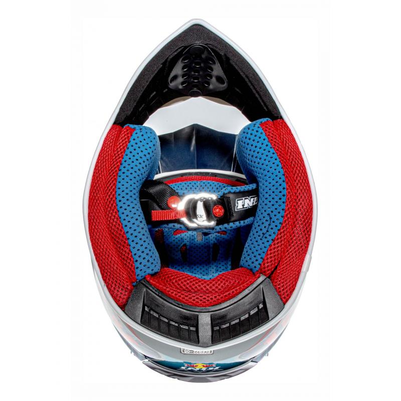 Casque cross Kini Red Bull Competition bleu marine - 5