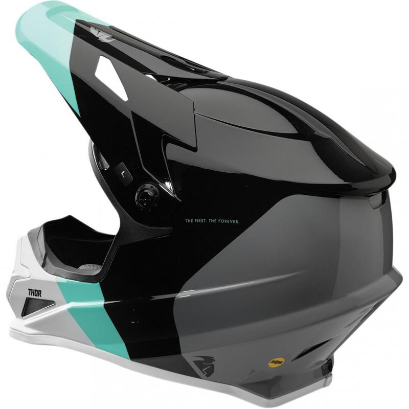 Casque cross Thor Sector Mips black/mint - 1