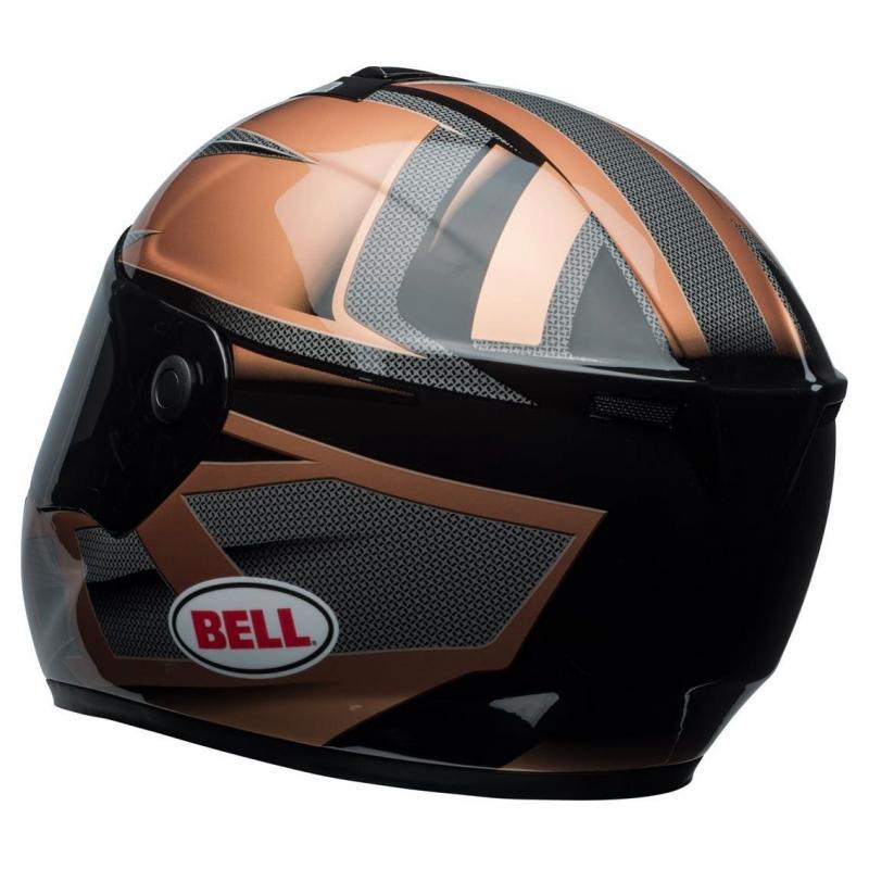 Casque intégral Bell SRT Predator copper/noir - 7