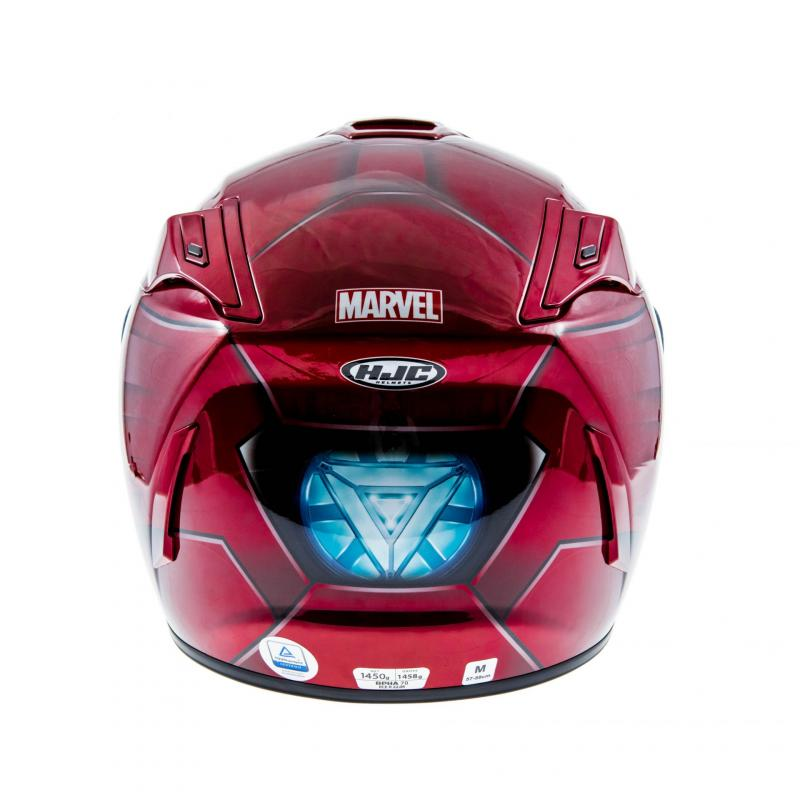 Casque intégral HJC RPHA 70 IRONMAN HOMECOMING MARVEL - 4