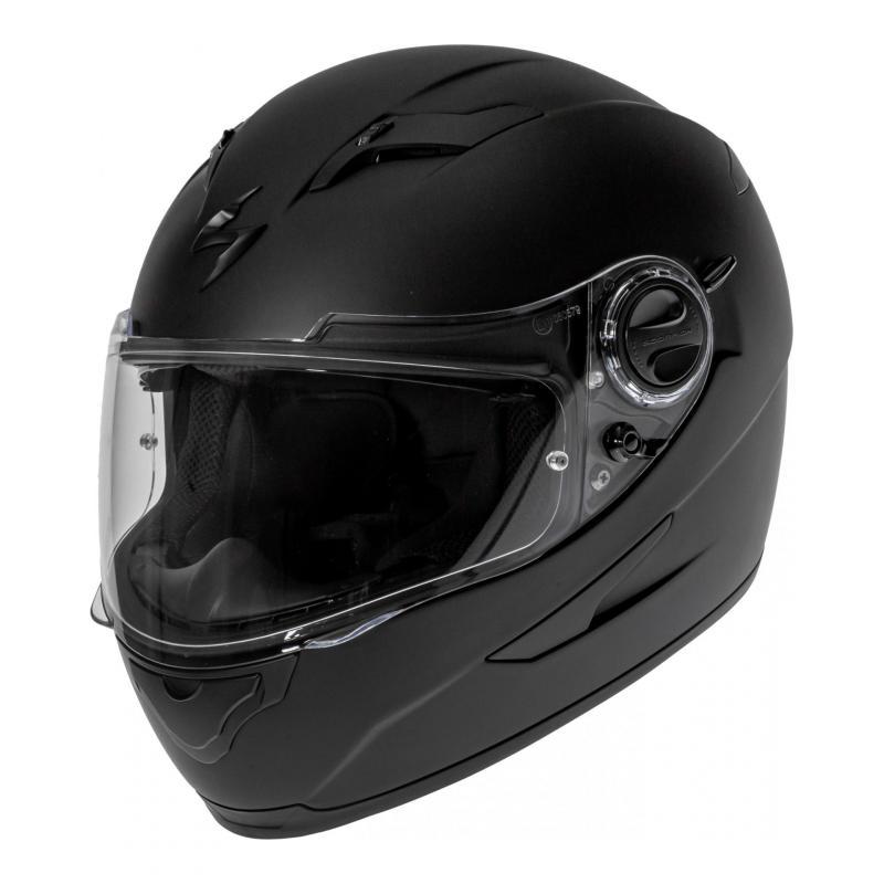 Casque intégral Scorpion EXO-490 noir mat