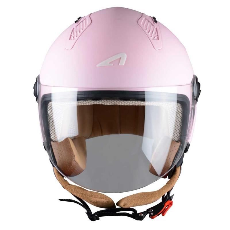 Casque Jet Astone Minijet Monocolor Flamingo - 2