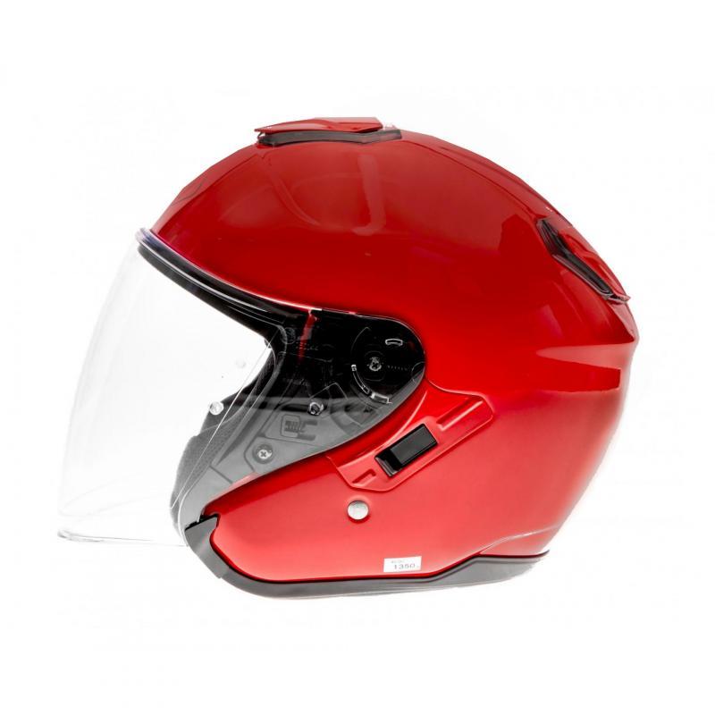 Casque jet Shoei J-Cruise rouge brillant - 1