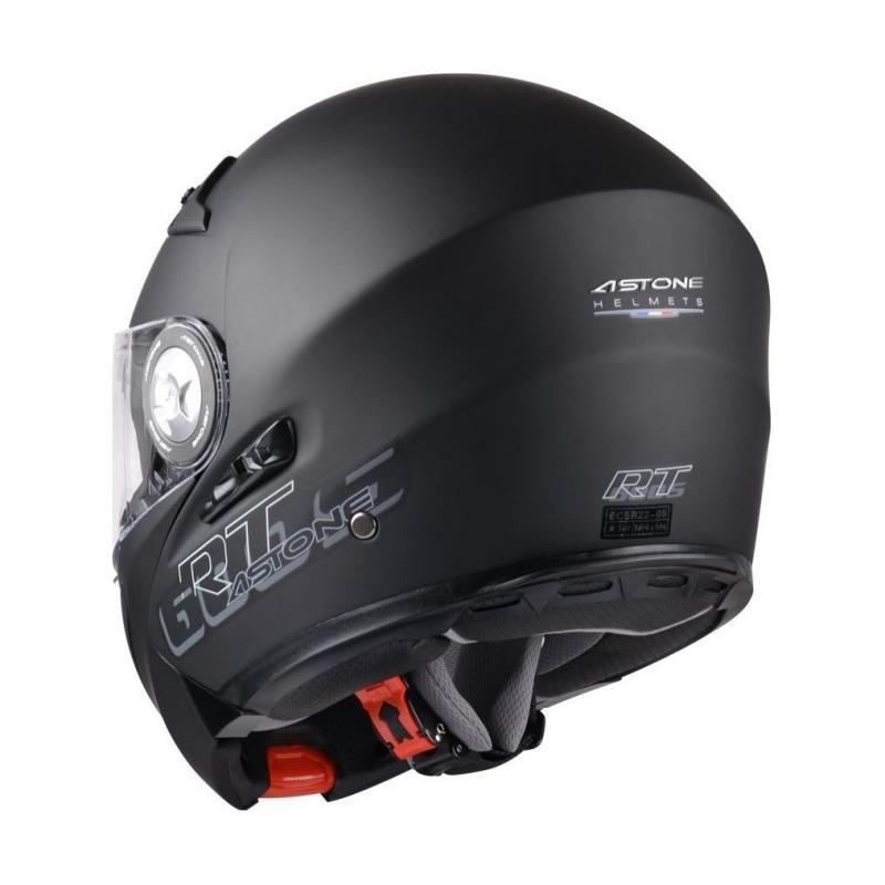 Casque Modulable Astone Rt600s Mono Exclusive noir mat - 2