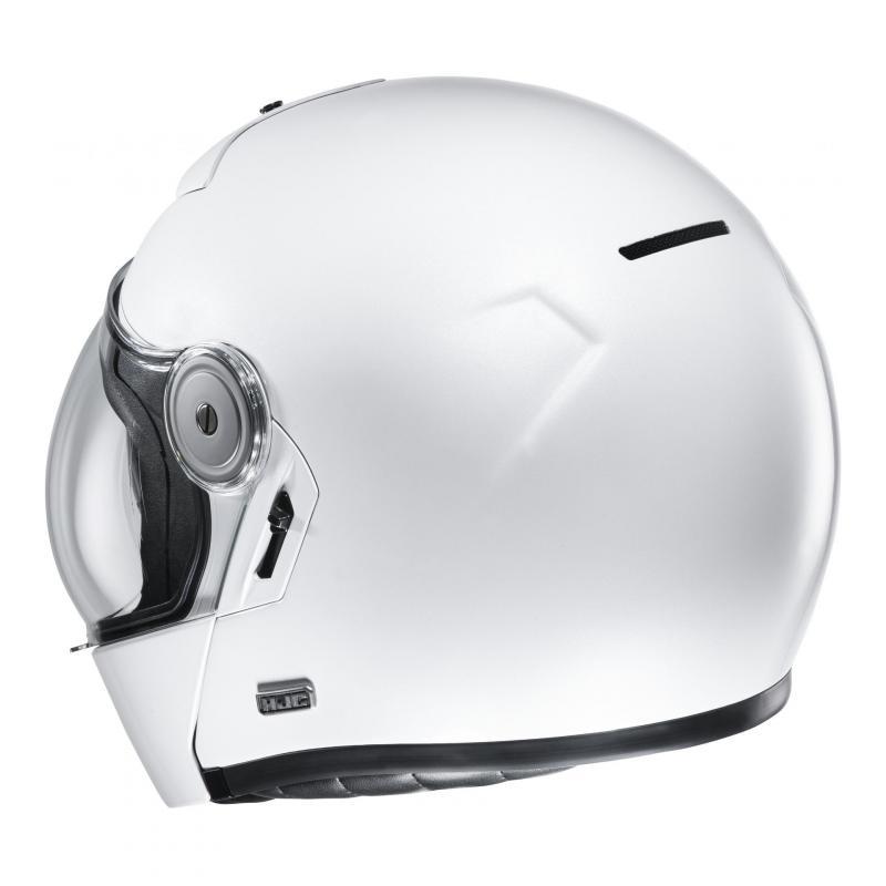 Casque modulable HJC V90 blanc - 1