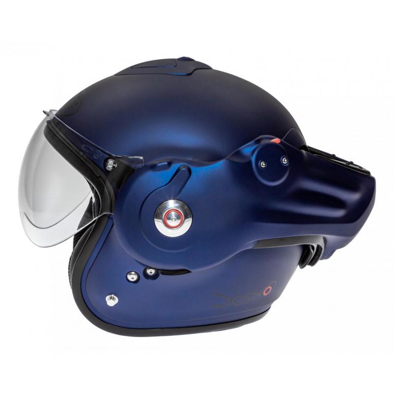 Casque modulable Roof RO32 Desmo Uni dark bleu mat - 3