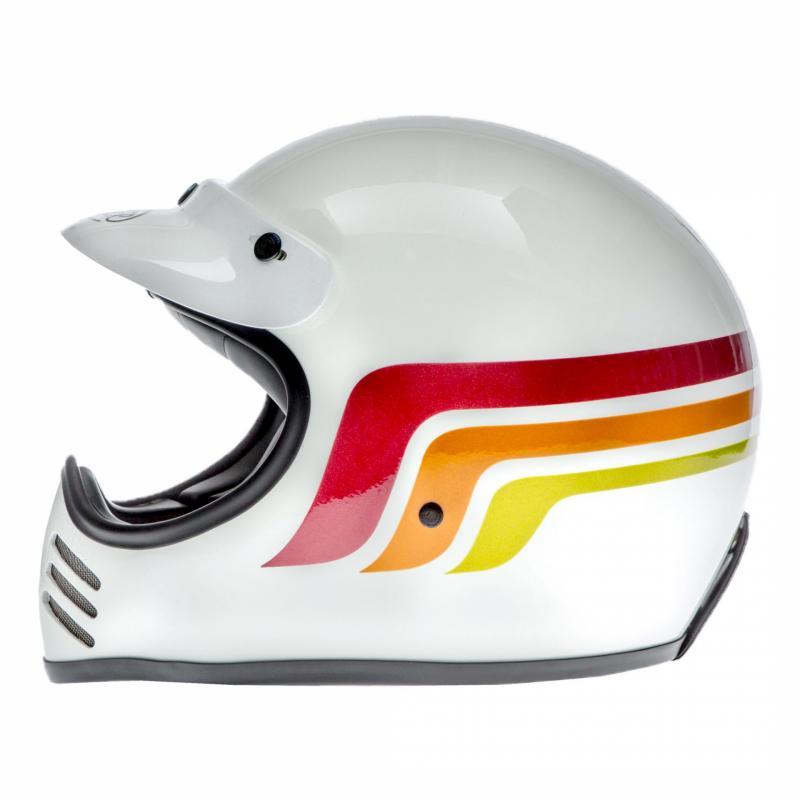 Casque Premier MX LC8 blanc - 1