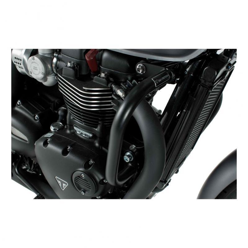 Crashbar noir SW-Motech Triumph Street Twin 900 16-19