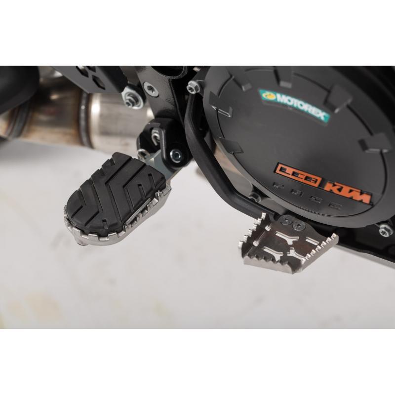 Extension de pédale de frein SW-MOTECH gris KTM Adventure 990 / 1050 / 1190 / 1290 / SMR - 2
