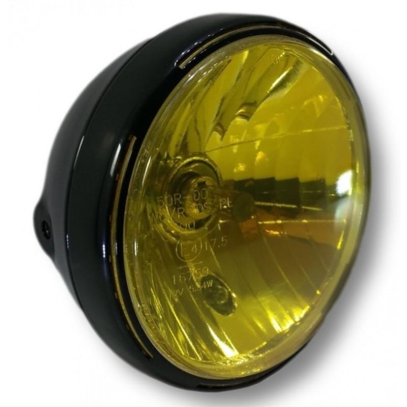 Film vinyle jaune transparent Brazoline pour phare - 1
