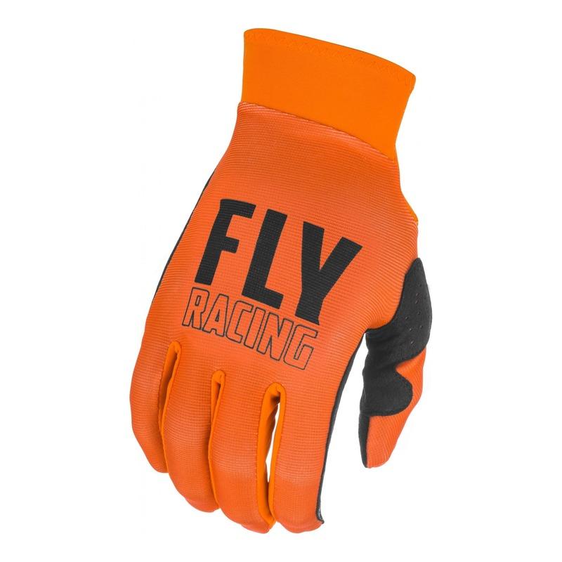 Gants cross Fly Racing Pro Lite orange/noir