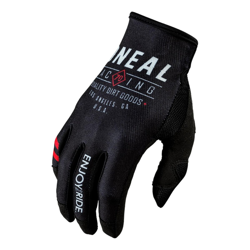 Gants cross O'Neal Mayhem Dirt noir/gris