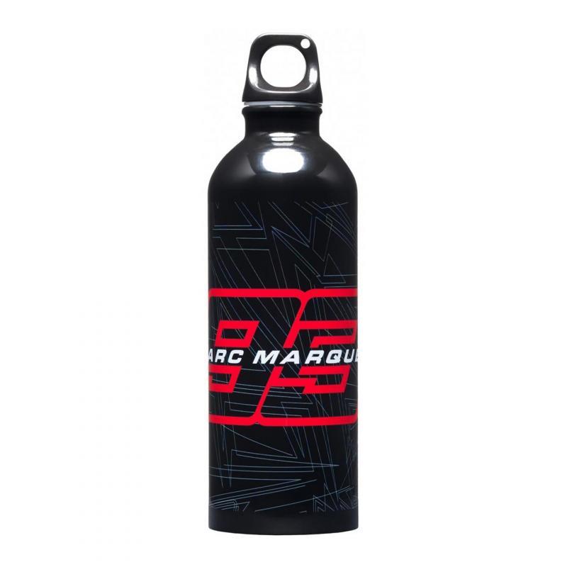 Gourde aluminium Marc Marquez 93 noir