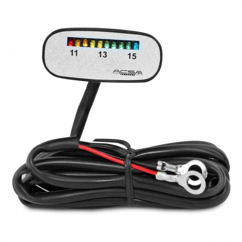 Indicateur charge Batterie 12v
