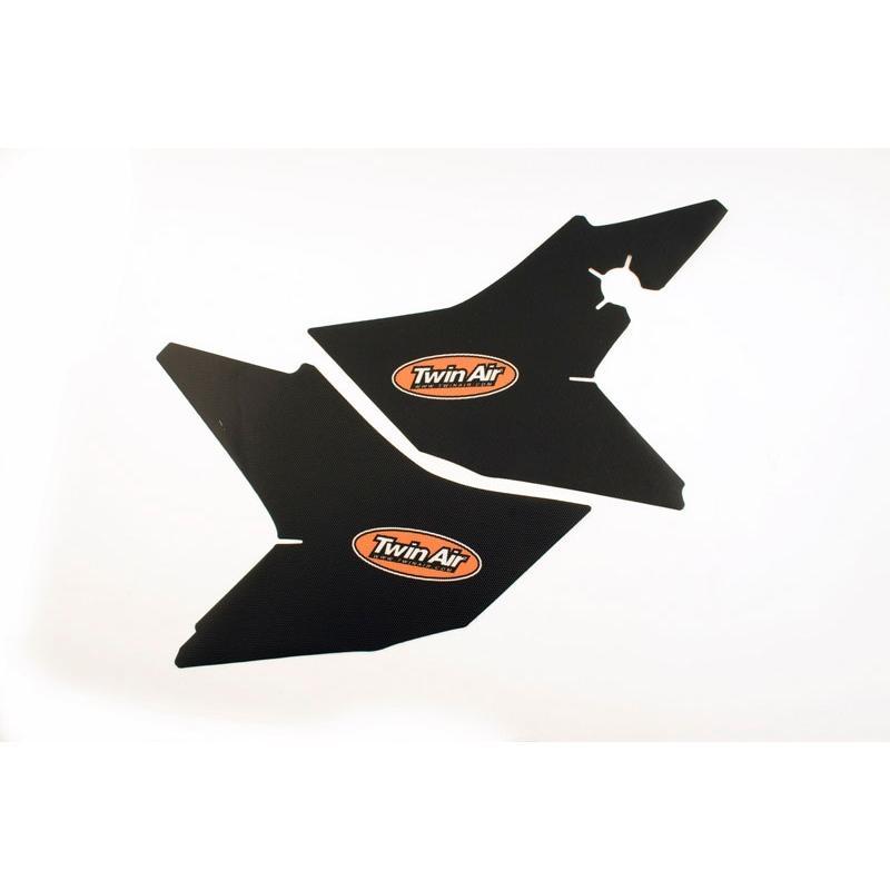 Kit déco boîte à air anti-dérapant Twin Air Noir pour Honda CRF 250 R 14-17 - 1