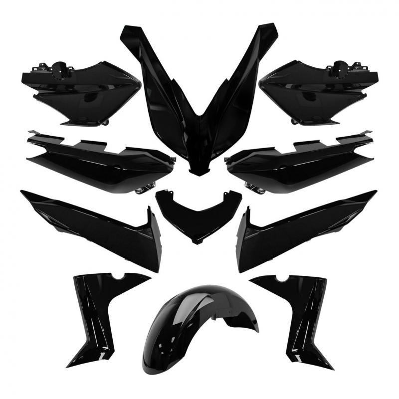 Kit habillage noir brillant Yamaha X-Max 125/250/400 2014-17