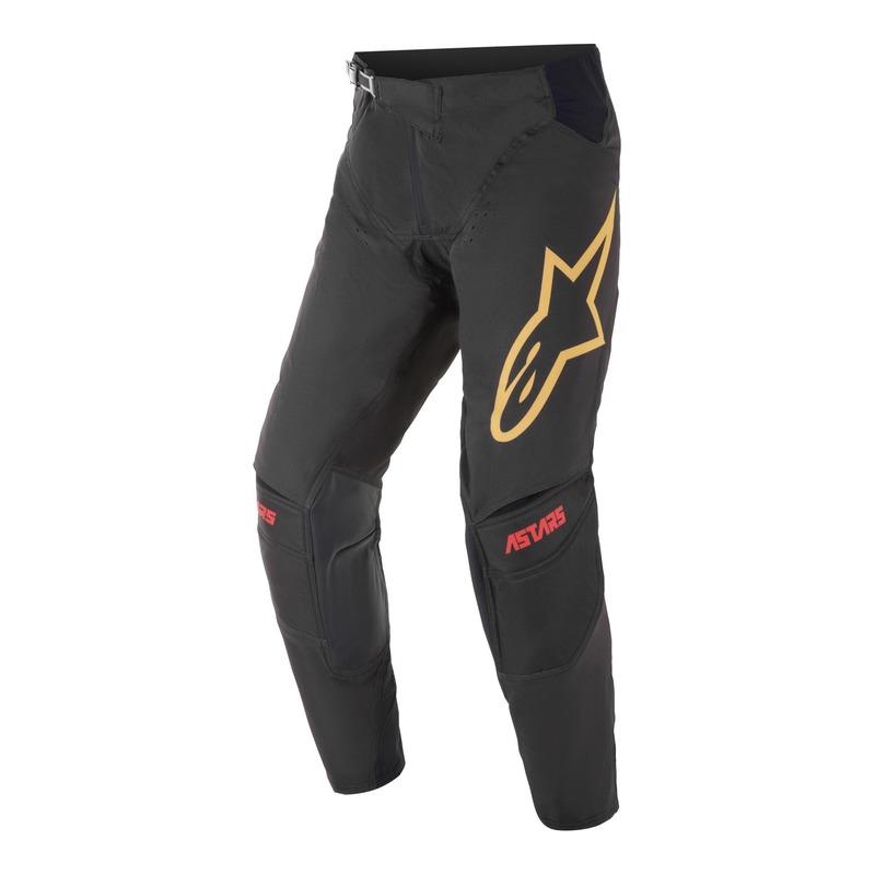 Pantalon cross Alpinestars Techstar Venom noir bright/rouge/orange