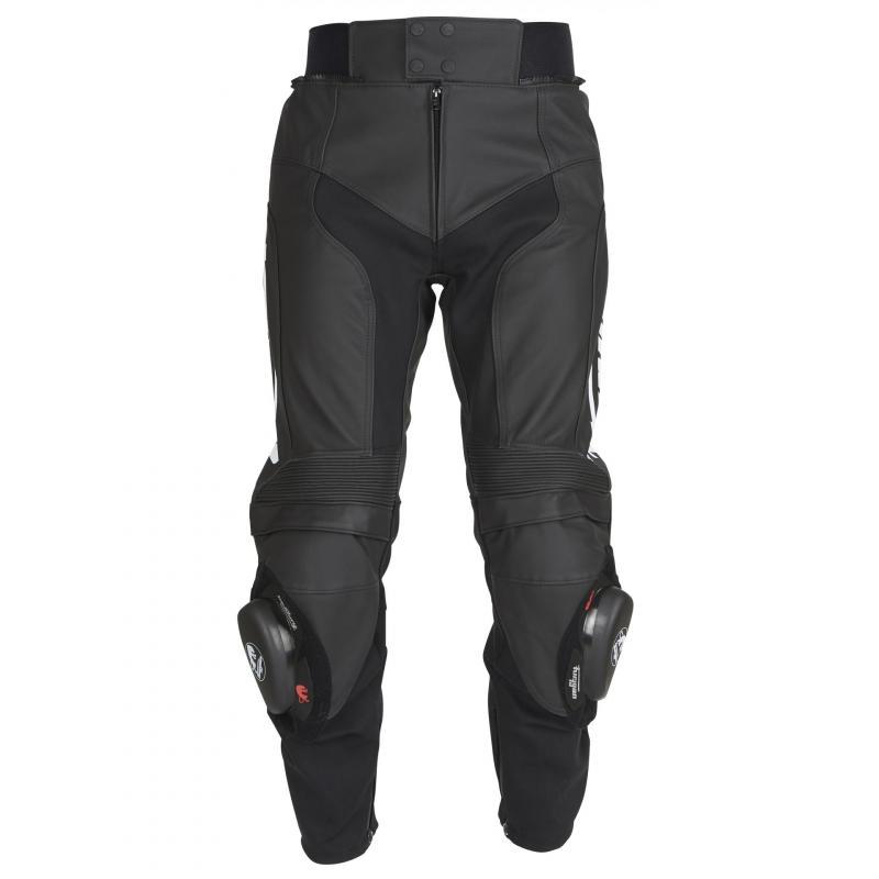 Pantalon cuir Furygan Bud Evo 3 noir/blanc - 3