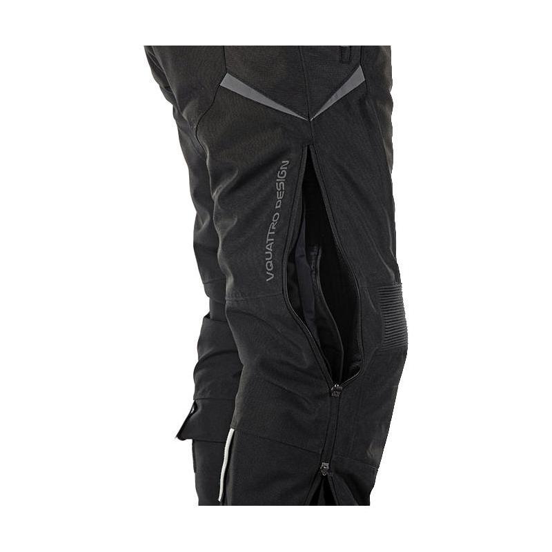 Pantalon textile V'Quattro Randy noir - 2