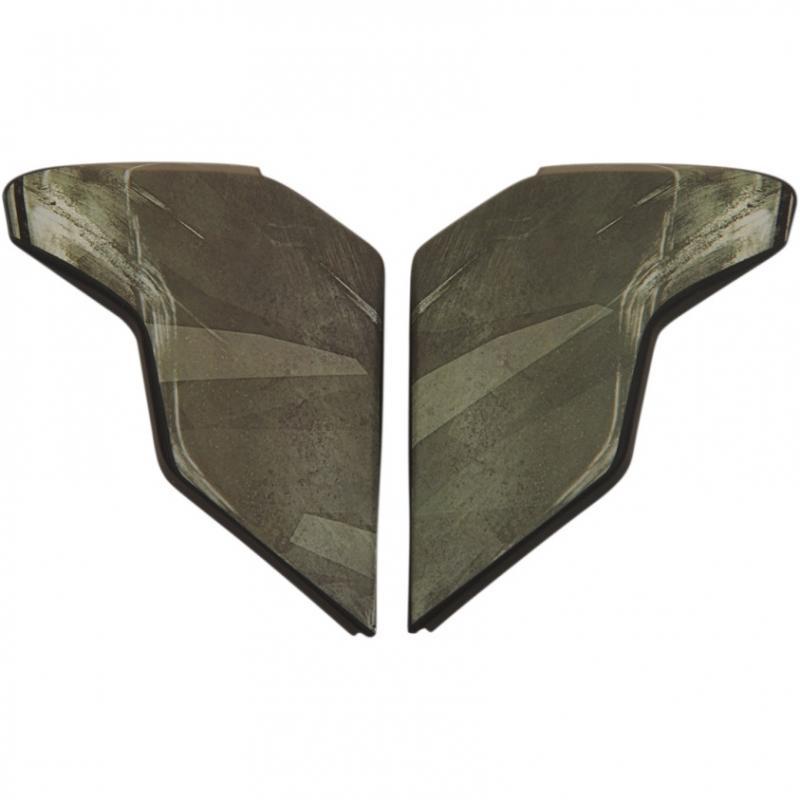 Plaques latérales Icon pour casque Airflite Battlescar 2 vert