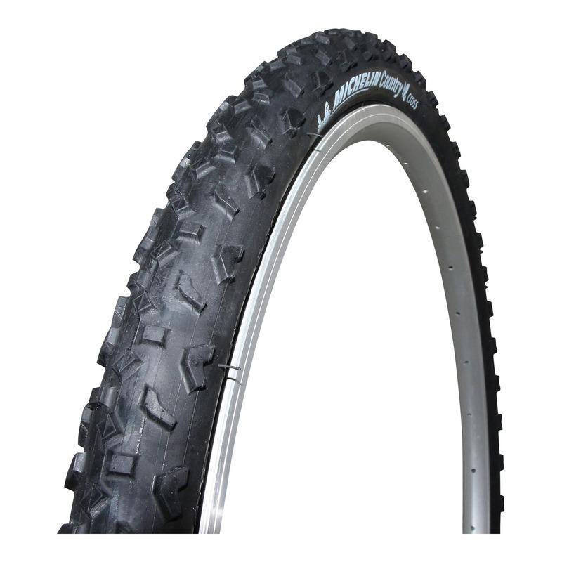 Pneu vélo VTT Michelin Country Cross TR noir (26x1.95'')
