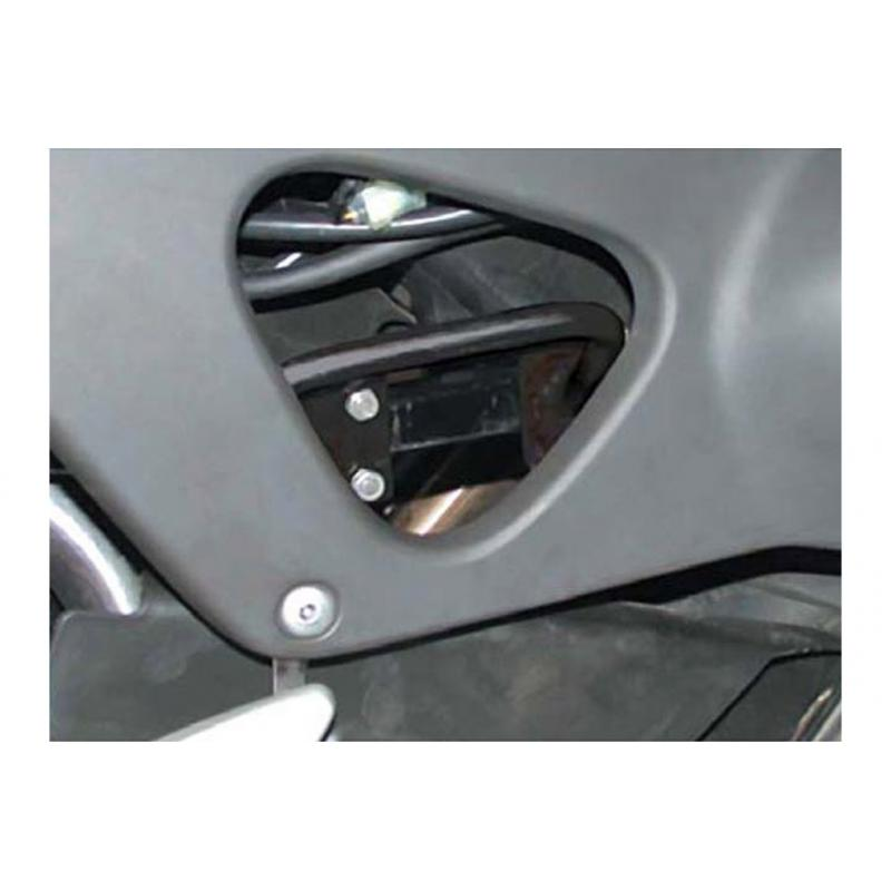 Poignée de béquille centrale SW-MOTECH noir Honda XL 1000 V Varadero - 1