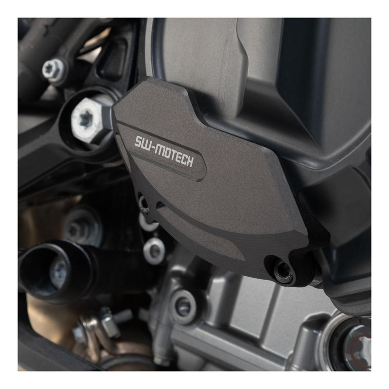 Protection de couvercle de carter moteur SW-MOTECH noir KTM 790 Duke 18-20