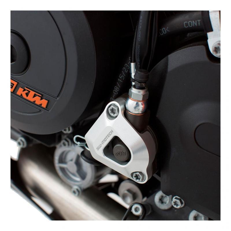Protection de récepteur embrayage SW-MOTECH gris 1050 / 1190 / 1290 Adv, 990 SMR / SMT, 1290SD