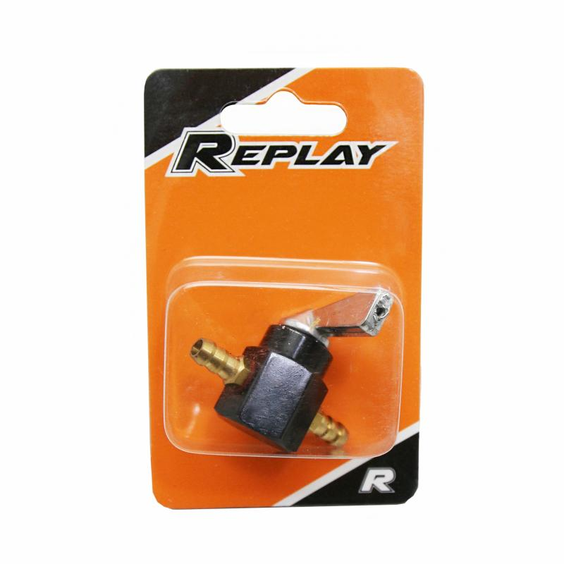 Robinet essence Replay universel 6mm noir - 1