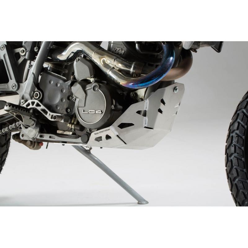 Sabot moteur SW-MOTECH gris KTM 620 Adventure 96-99 - 3