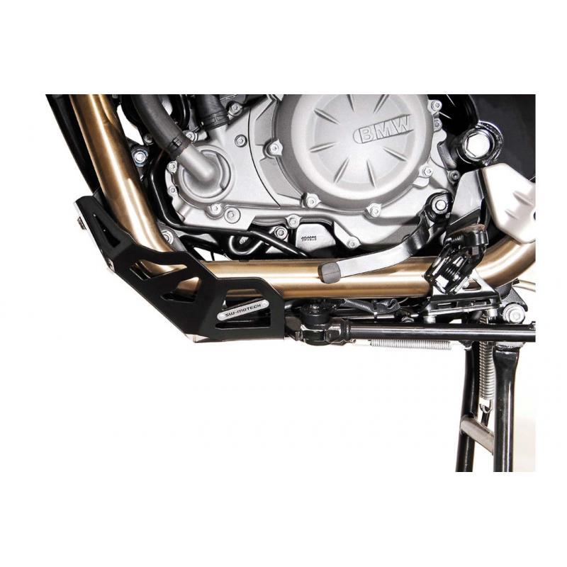 Sabot moteur SW-MOTECH noir BMW F650GS / G650GS / G650GS Sertao - 1