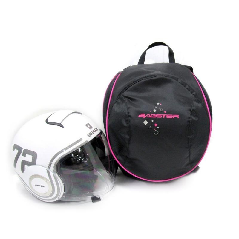 Sac de casque Bagster Pix Helmet Lady noir/rose - 1